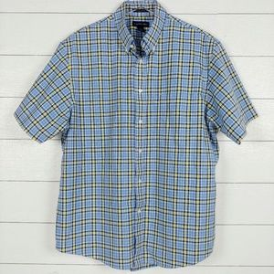 Lands' End no-iron traditional fit button up